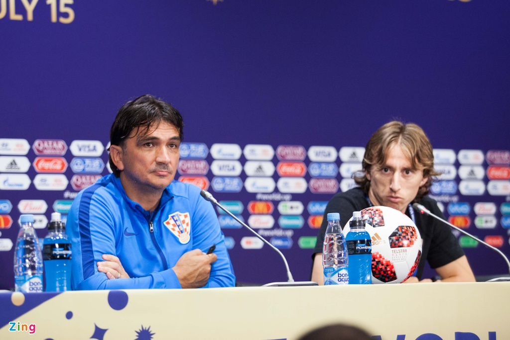 Luka Modric: Tiep tuc chien dau cho giac mo World Cup hinh anh 1