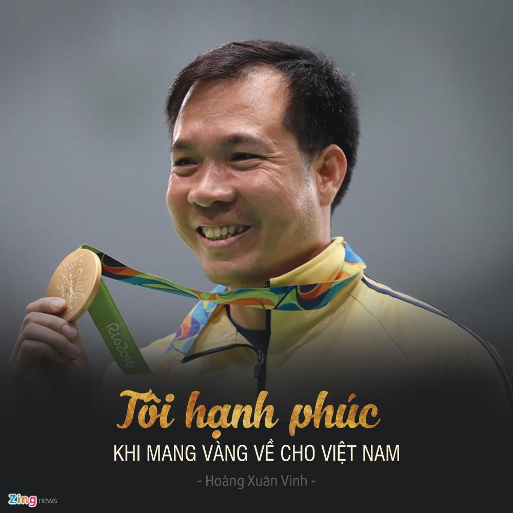 Hoang Xuan Vinh gianh huy chuong vang Olympic anh 1