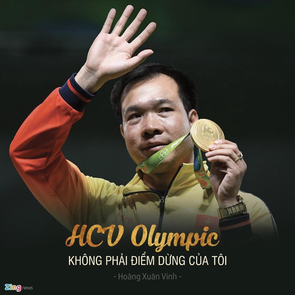 Hoang Xuan Vinh gianh huy chuong vang Olympic anh 2