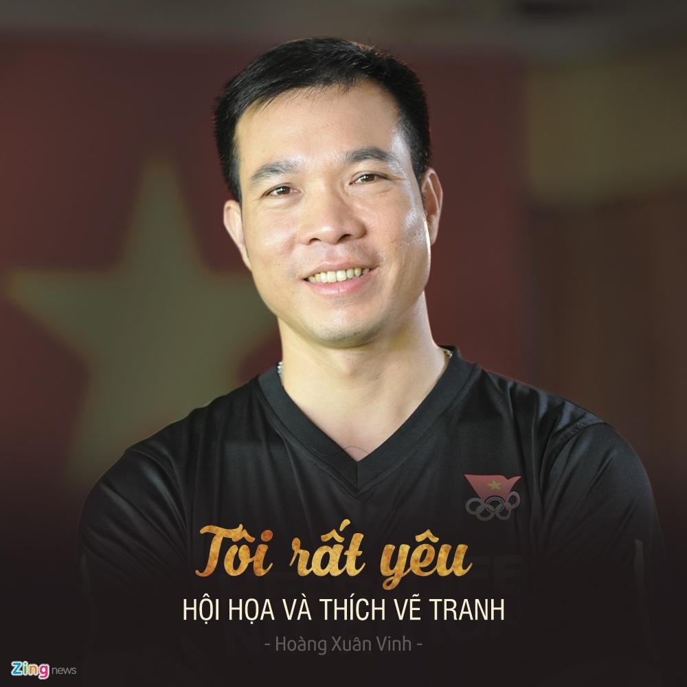 Hoang Xuan Vinh gianh huy chuong vang Olympic anh 6