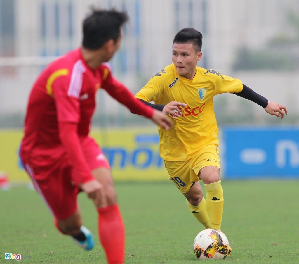 Nong cot doi U23 thua tan binh V.League 0-3 o tran giao huu hinh anh 2
