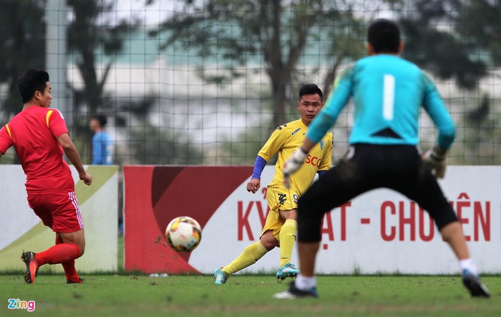 Nong cot doi U23 thua tan binh V.League 0-3 o tran giao huu hinh anh 10