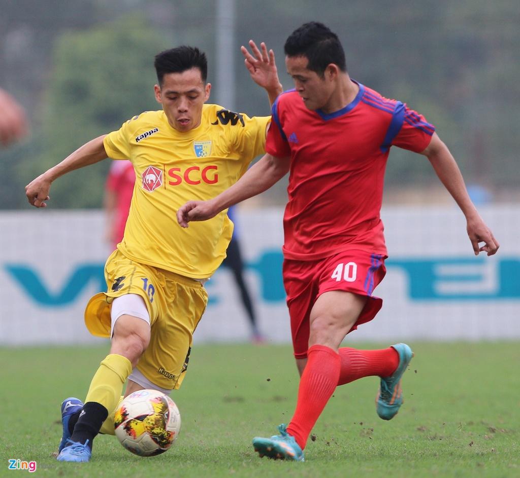 Nong cot doi U23 thua tan binh V.League 0-3 o tran giao huu hinh anh 11