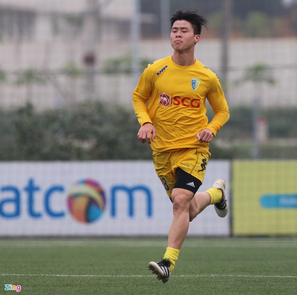 Nong cot doi U23 thua tan binh V.League 0-3 o tran giao huu hinh anh 6