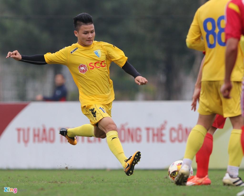 Nong cot doi U23 thua tan binh V.League 0-3 o tran giao huu hinh anh 5