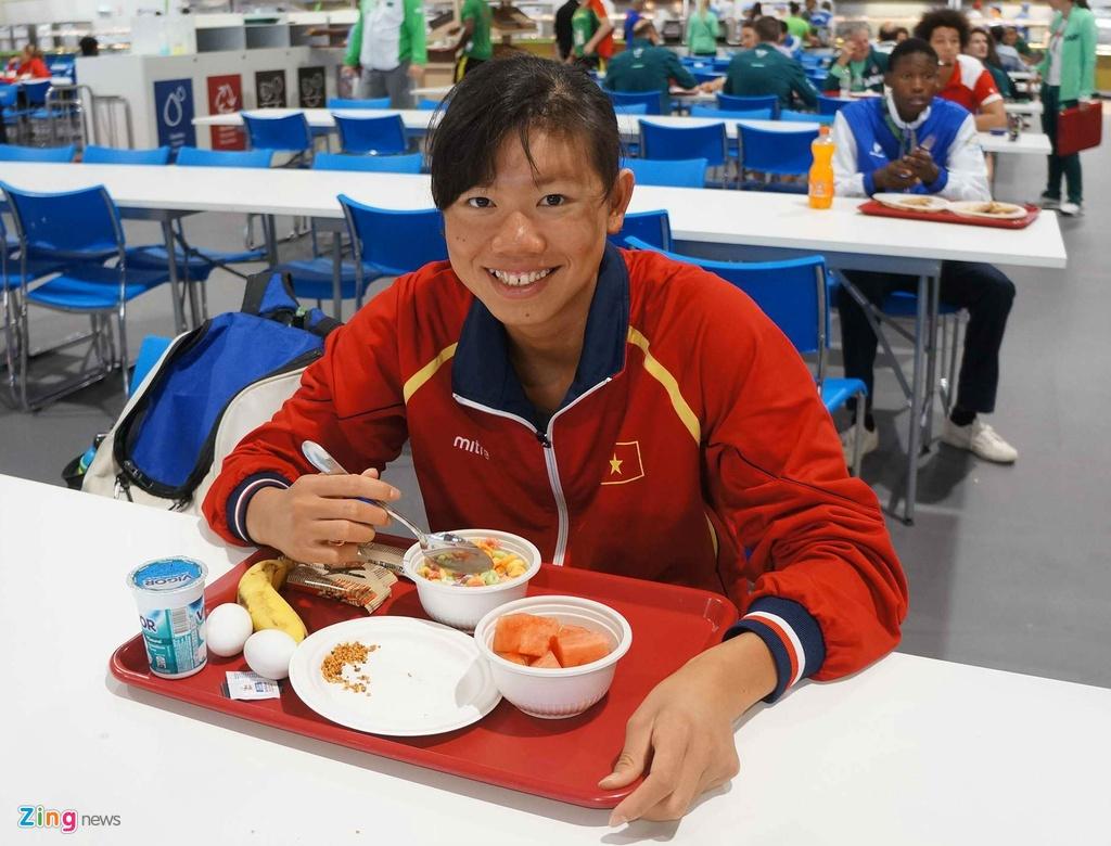 Mot ngay cua Anh Vien o Olympic Rio 2016 hinh anh 10