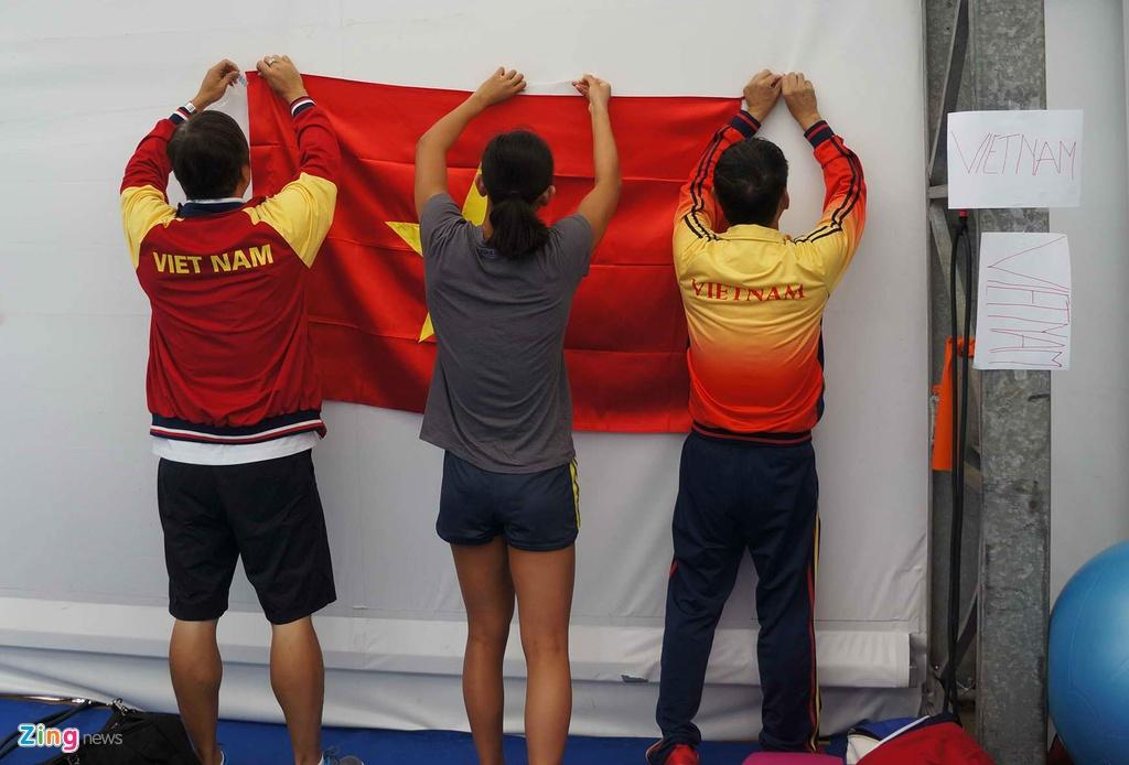 Mot ngay cua Anh Vien o Olympic Rio 2016 hinh anh 13
