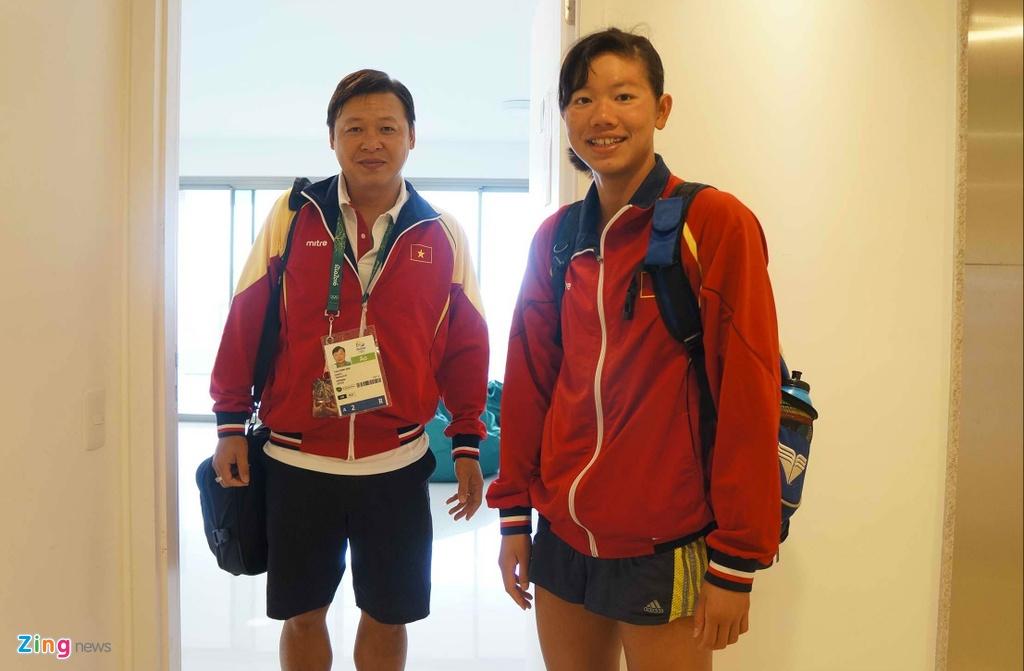 Mot ngay cua Anh Vien o Olympic Rio 2016 hinh anh 1