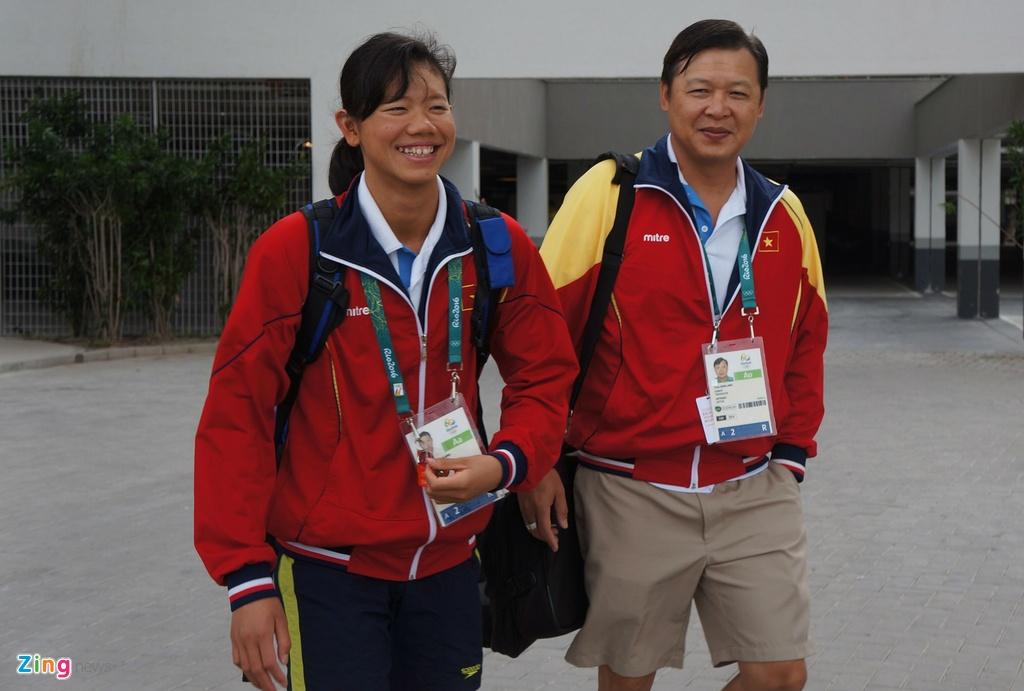 Mot ngay cua Anh Vien o Olympic Rio 2016 hinh anh 18