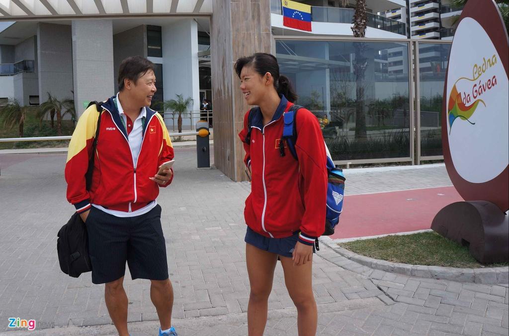 Mot ngay cua Anh Vien o Olympic Rio 2016 hinh anh 2