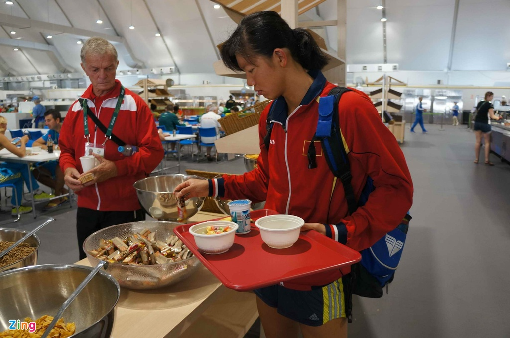 Mot ngay cua Anh Vien o Olympic Rio 2016 hinh anh 8