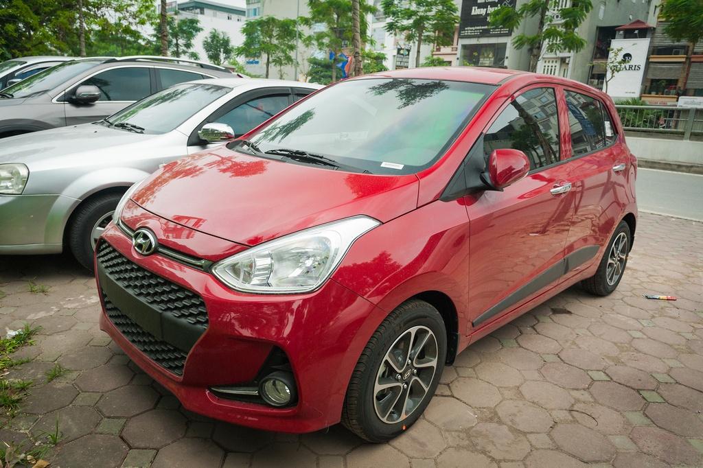 Toyota Wigo sut giam, Hyundai Grand i10 tro lai lam 'vua' xe gia re hinh anh 4