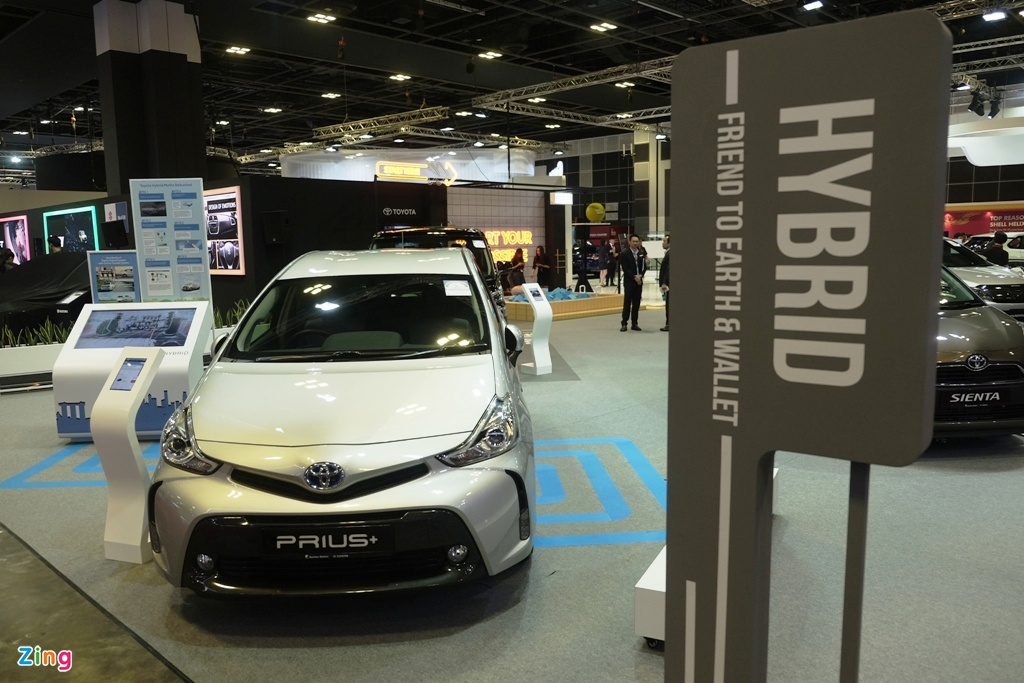 Singapore Motorshow 2019 - su troi day cua xe dien hinh anh 10