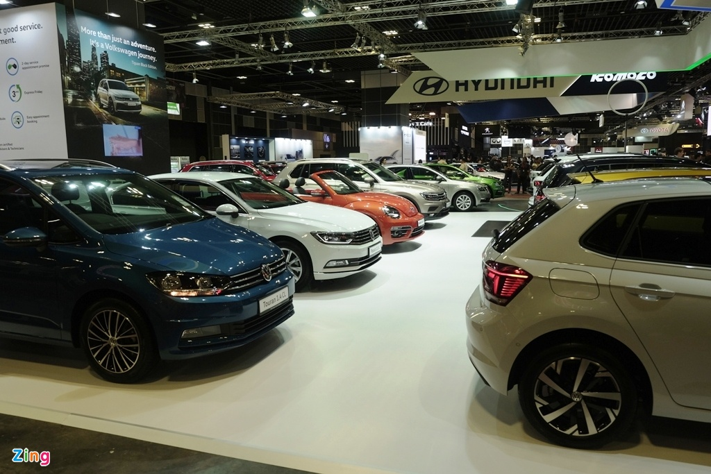 Singapore Motorshow 2019 - su troi day cua xe dien hinh anh 3