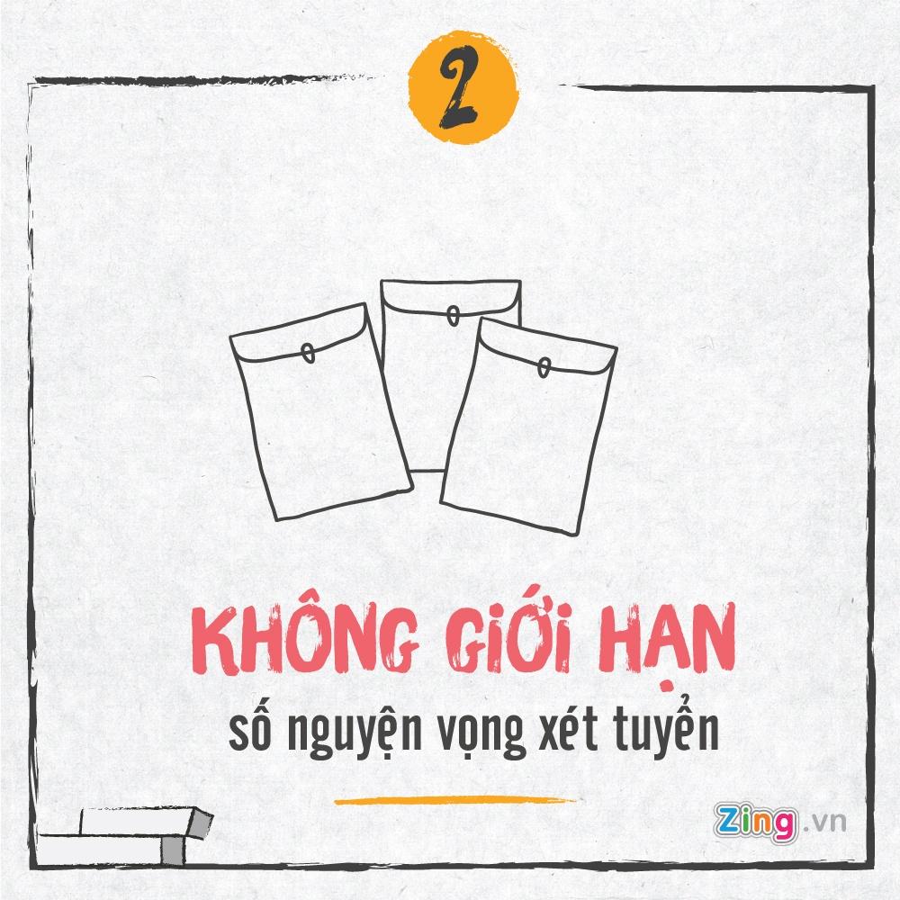 Tuyen sinh 2017: Bo diem san va nhung diem moi hinh anh 2