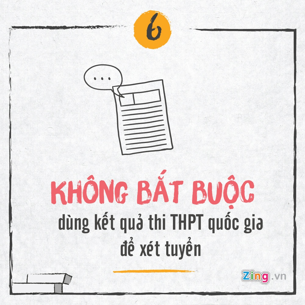 Tuyen sinh 2017: Bo diem san va nhung diem moi hinh anh 6