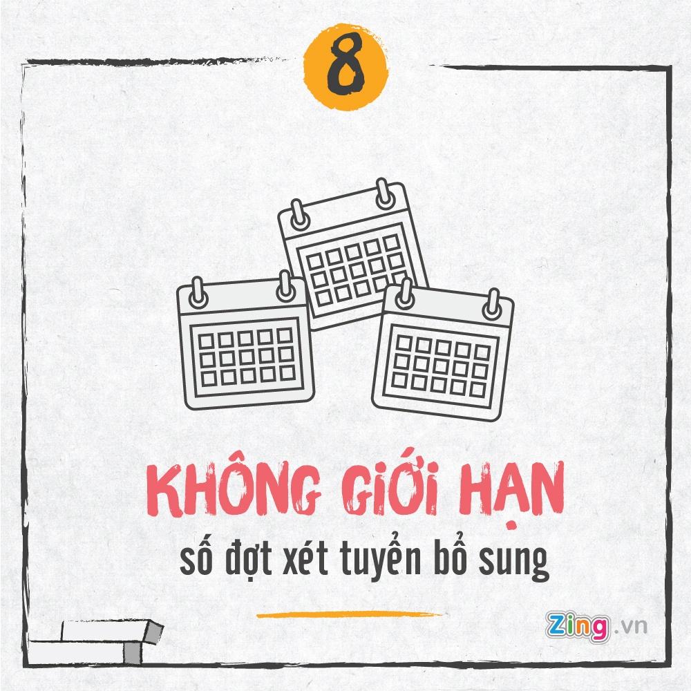 Tuyen sinh 2017: Bo diem san va nhung diem moi hinh anh 8