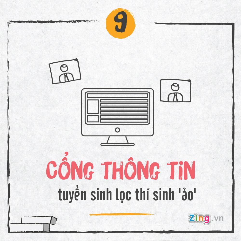 Tuyen sinh 2017: Bo diem san va nhung diem moi hinh anh 9