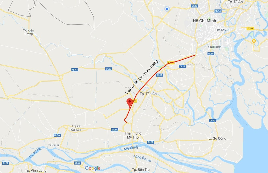Cao toc TP.HCM - Trung Luong lon xon khi dung thu phi anh 18