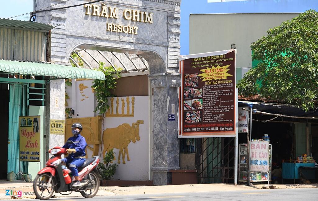 Can ranh resort Tram Chim vua bi UBND TP.HCM yeu cau cuong che anh 3