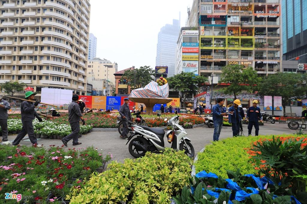 Duong hoa Nguyen Hue ruc ro sac mau truoc ngay khai mac hinh anh 9 duonghoanguyenhue_zing26.JPG