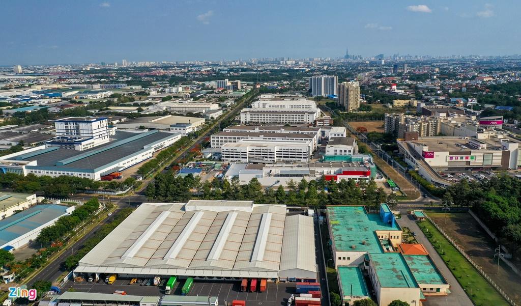 Khu cong nghiep viet nam - singapore Vsip anh 2