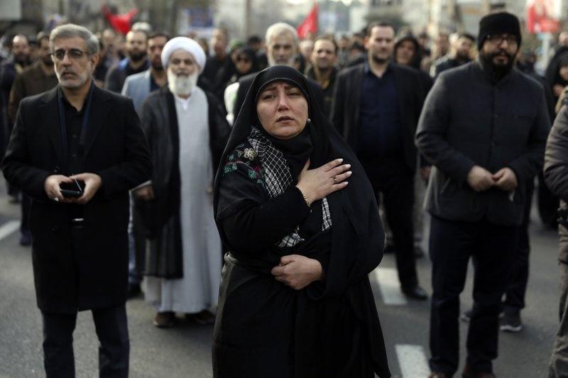 tuong Soleimani,  Iran,  My,  Israel anh 1