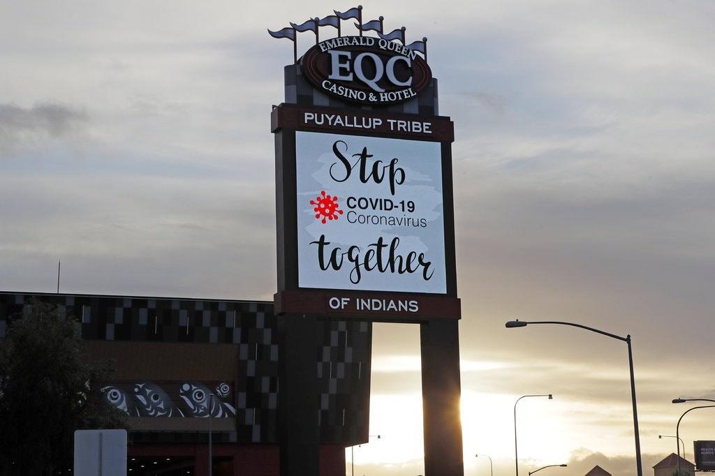 Sòng bạc & khách sạn Emerald Queen của người Mỹ bản địa ở Tacoma, Washington. Ảnh:AP.