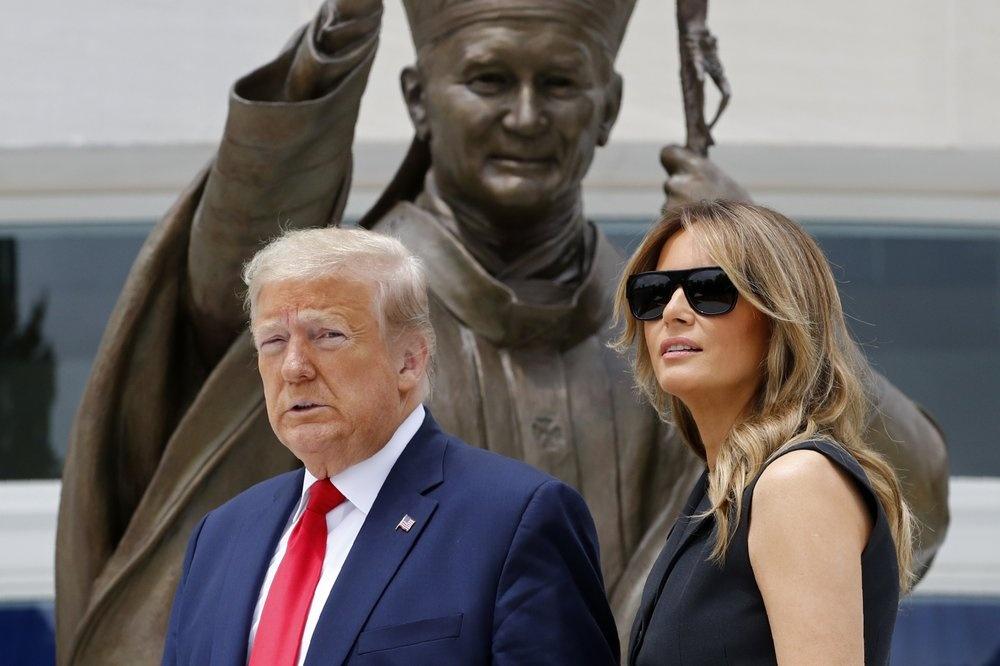 bieu tinh o My,  ong Trump doa cu quan doi anh 1