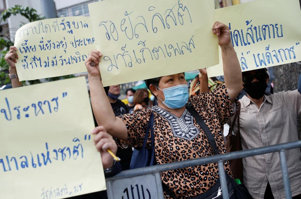 bieu tinh o Thai Lan anh 7