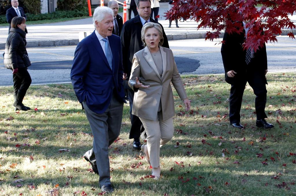 Hillary Clinton di bau cu anh 7