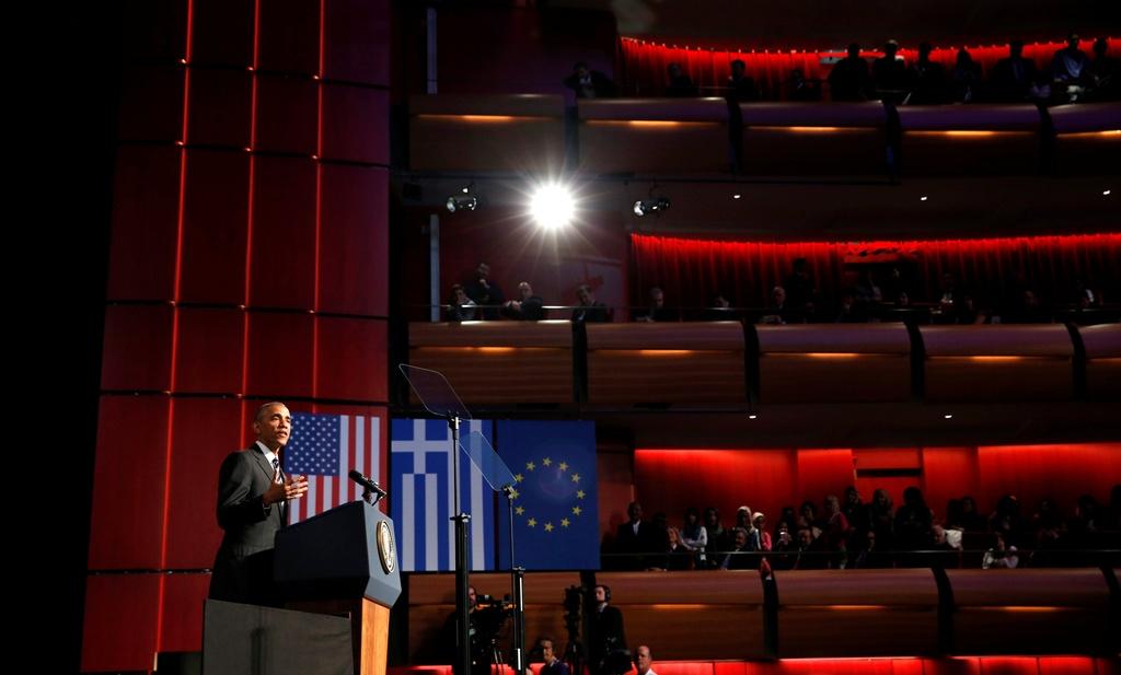 Obama den xu than thoai, thuc hien uoc mo tham den Parthenon hinh anh 7