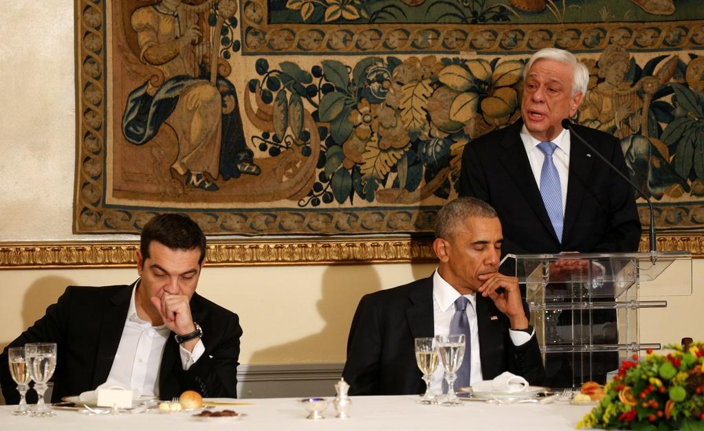 Obama den xu than thoai, thuc hien uoc mo tham den Parthenon hinh anh 6