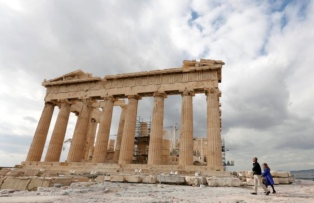 Obama den xu than thoai, thuc hien uoc mo tham den Parthenon hinh anh 3