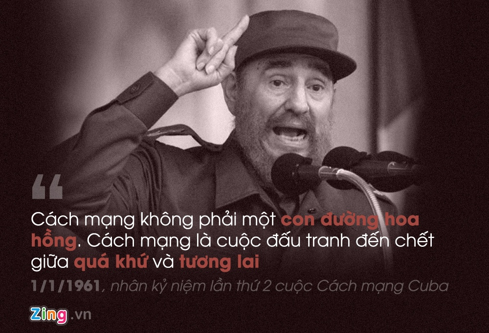 Phat ngon noi tieng cua Fidel Castro anh 3