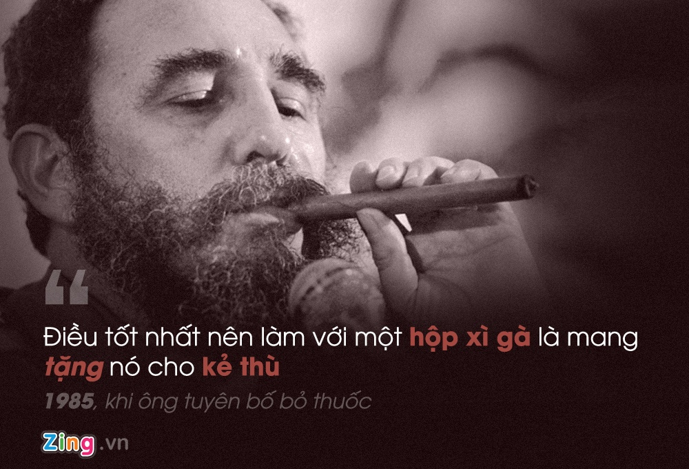 Phat ngon noi tieng cua Fidel Castro anh 8