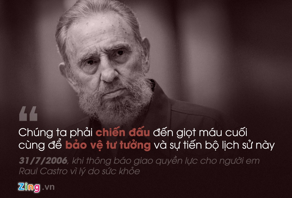 Phat ngon noi tieng cua Fidel Castro anh 9