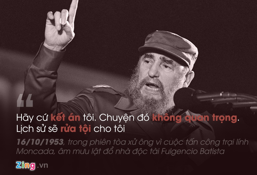Phat ngon noi tieng cua Fidel Castro anh 1