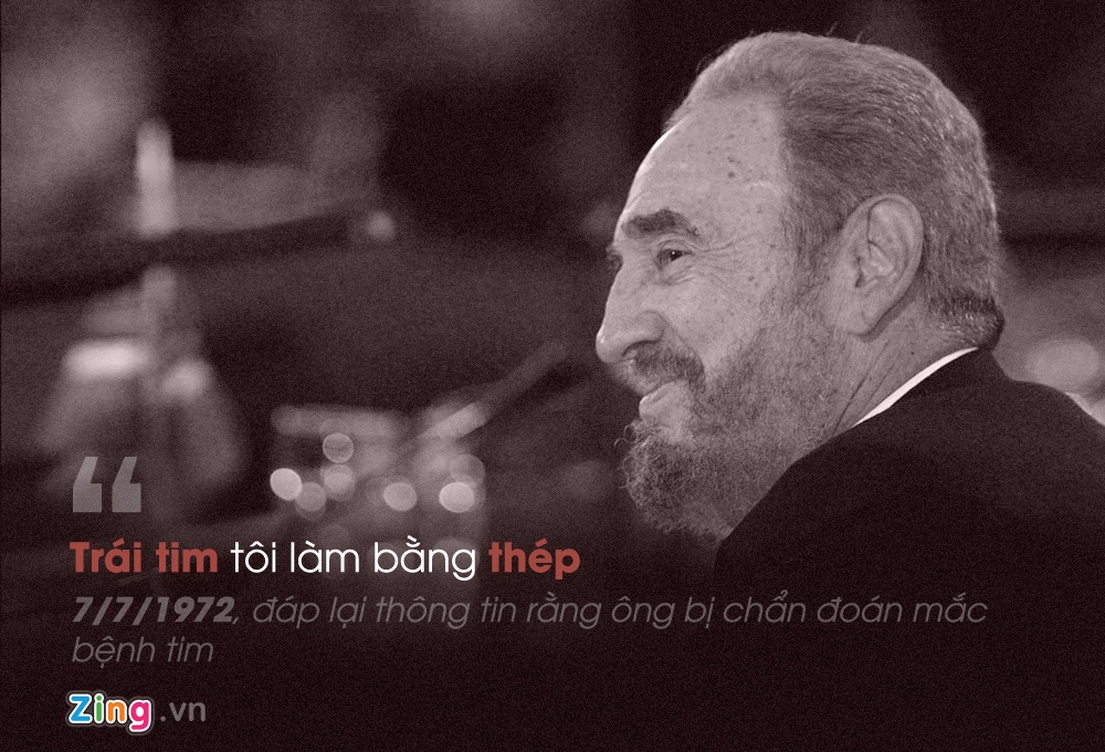 Phat ngon noi tieng cua Fidel Castro anh 6