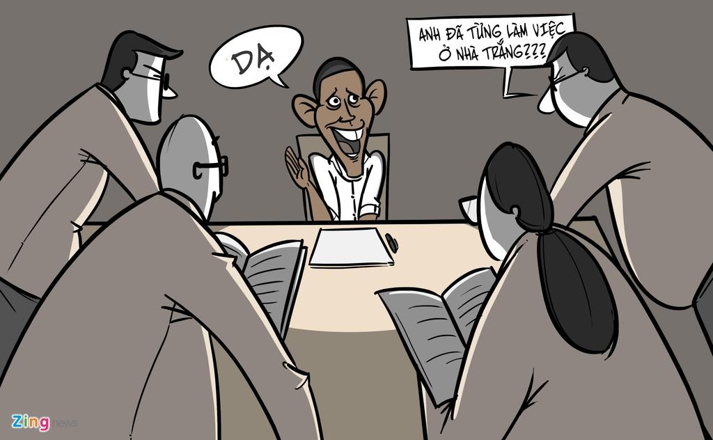 Obama sau khi roi Nha Trang anh 1