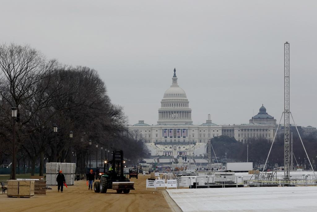 'Dai cong truong' Washington D.C. truoc ngay Trump nham chuc hinh anh 1