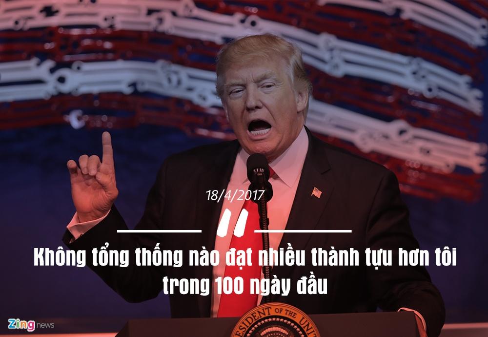 12 phat ngon an tuong tu 100 ngay nhiem ky Tong thong Trump hinh anh 12