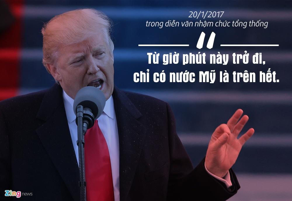 12 phat ngon an tuong tu 100 ngay nhiem ky Tong thong Trump hinh anh 1