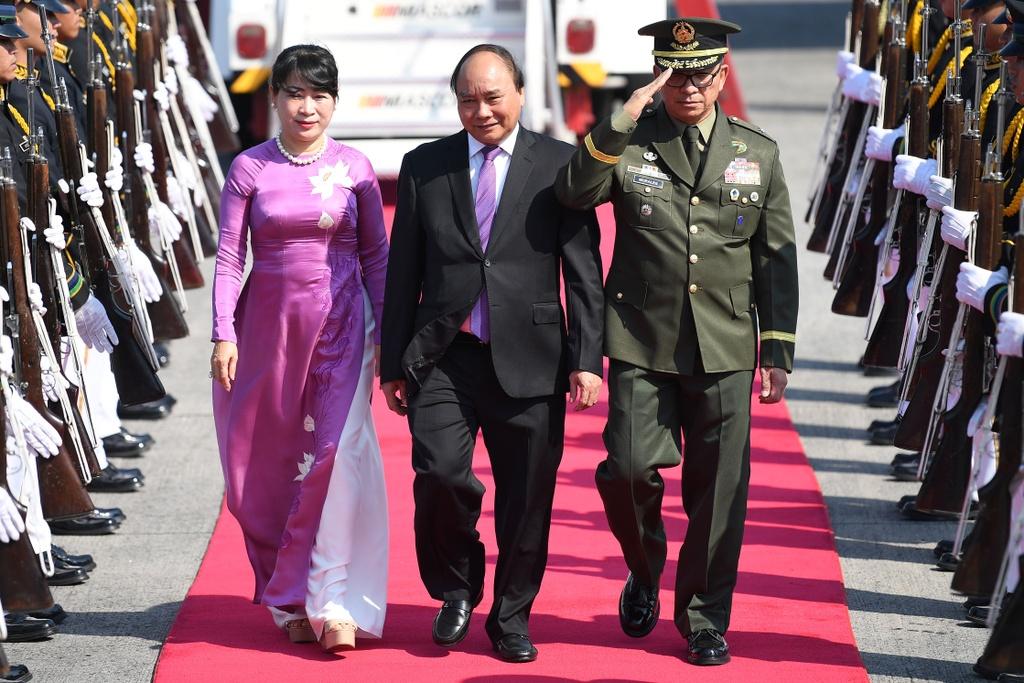 Thu tuong Nguyen Xuan Phuc du phien hop toan the Hoi nghi ASEAN hinh anh 8