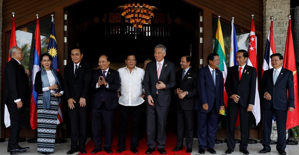 Thu tuong Nguyen Xuan Phuc du phien hop toan the Hoi nghi ASEAN hinh anh 2