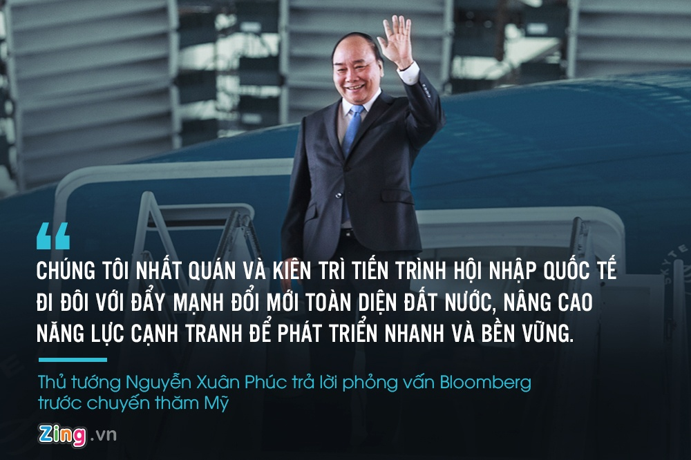 Thu tuong Nguyen Xuan Phuc gap Tong thong Trump anh 3