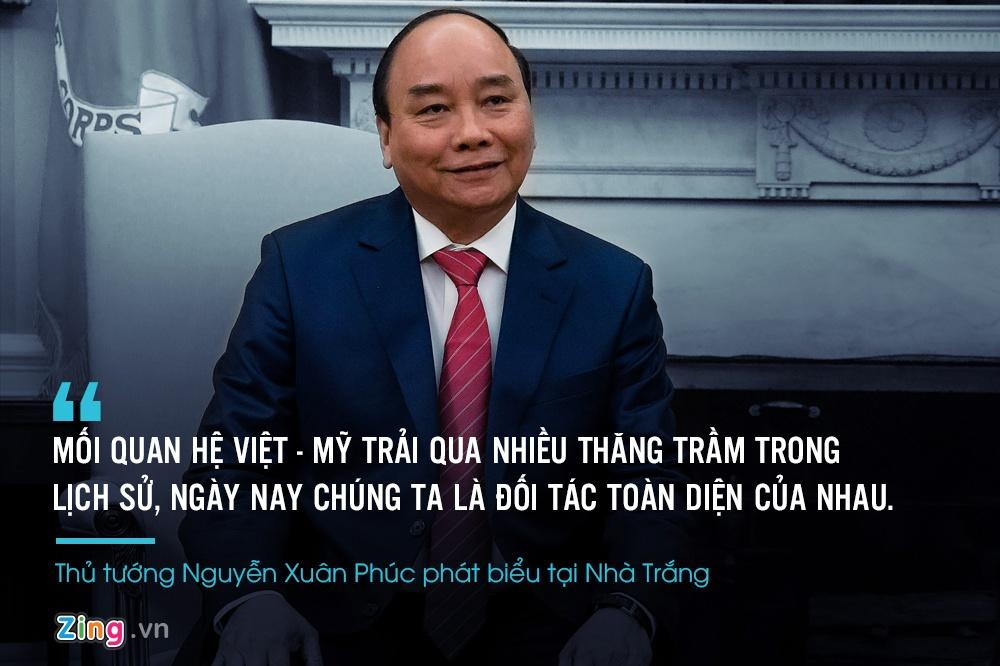 Thu tuong Nguyen Xuan Phuc gap Tong thong Trump anh 8