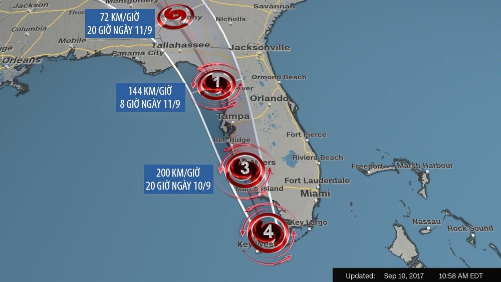 Irma khien Florida nhu o 'vung toi mat trang', it nhat 3 nguoi chet hinh anh 11