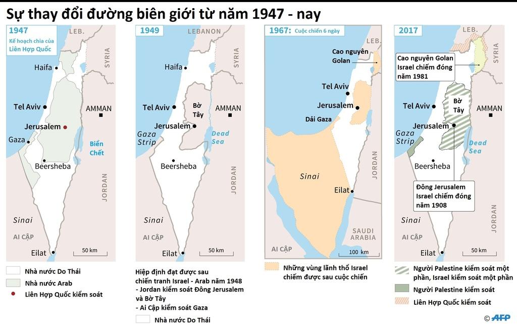Xung dot Palestine Israel anh 3
