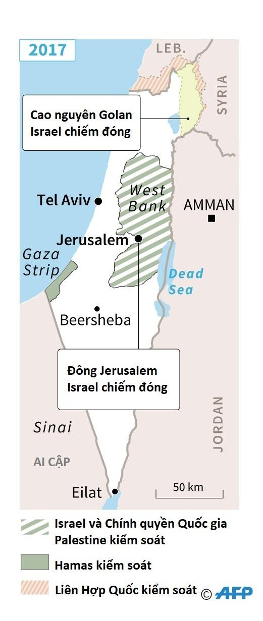 Xung dot Palestine Israel anh 2
